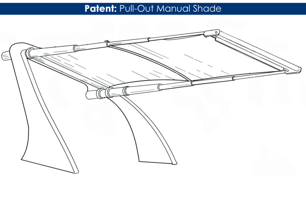 RTX Pull-Out Shade Patent